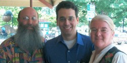 Sohodojo's Jim and Timlynn lunch with Dan Pink during Dan's book tour stop in Raleigh...