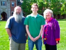 Jim Salmons, Jelal Younes, and Timlynn Babitsky photo at Grinnell College