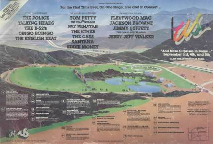 The US Festival '82 poster