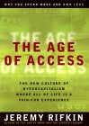 The Age of Access by Jeremy Rifkin, book or media cover image.